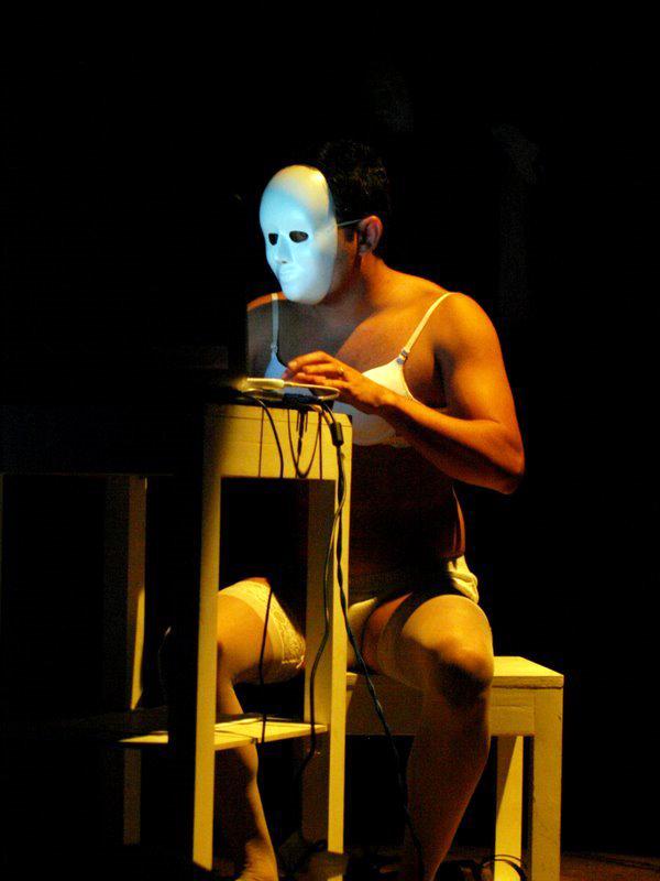 Cena inicial, 1° Festival Breces Cenas, 2009