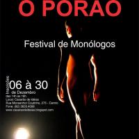 Festival de Monólogos Um Ator, Um Espaço: O Porão