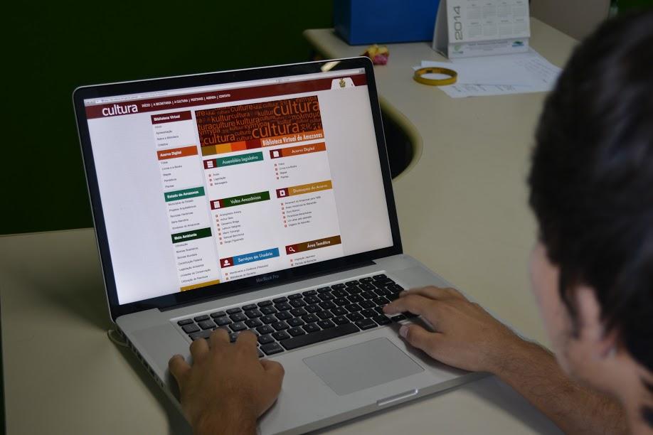 Aproximadamente 300 conteúdos já podem ser consultados na Biblioteca Virtual do Amazonas (BV)