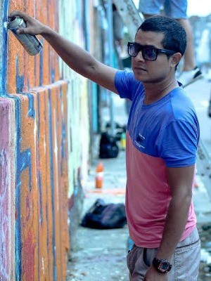 No Amazonas, Casa de Chico lança mostra de grafite e atrações de teatro e dança