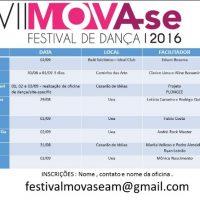 """""""Mova-se Festival de Dança"""" terá oficinas ampliando a formação profissional"""
