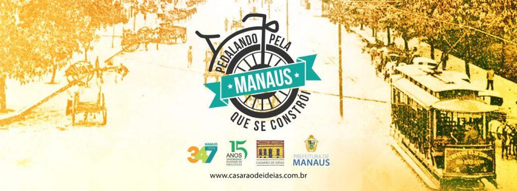 Pedalando pela Manaus que se constroi