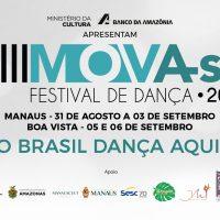 8ª Edição do Mova-se inicia programação nesta quinta-feira (31), em Manaus