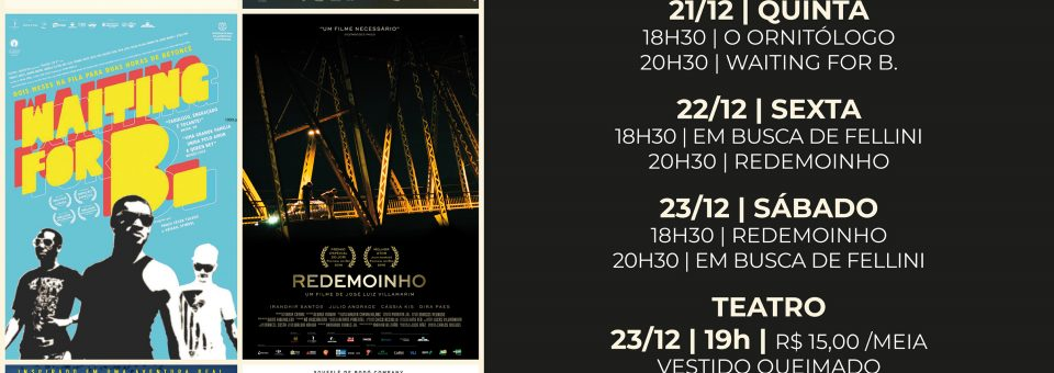 Cinema e Teatro movimentam a cena cultural desta semana no Casarão