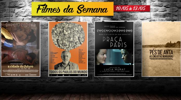 Cine Casarão – Filmes de 10 de maio à 13 de maio