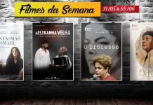 Cine Casarão – Filmes de 31 de maio à 03 de junho de 2018