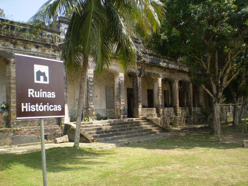 Ruínas históricas de Paricatuba