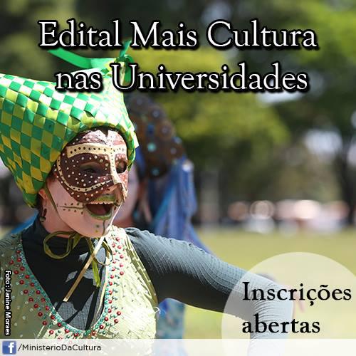 Edital : Mais Cultura nas Universidades