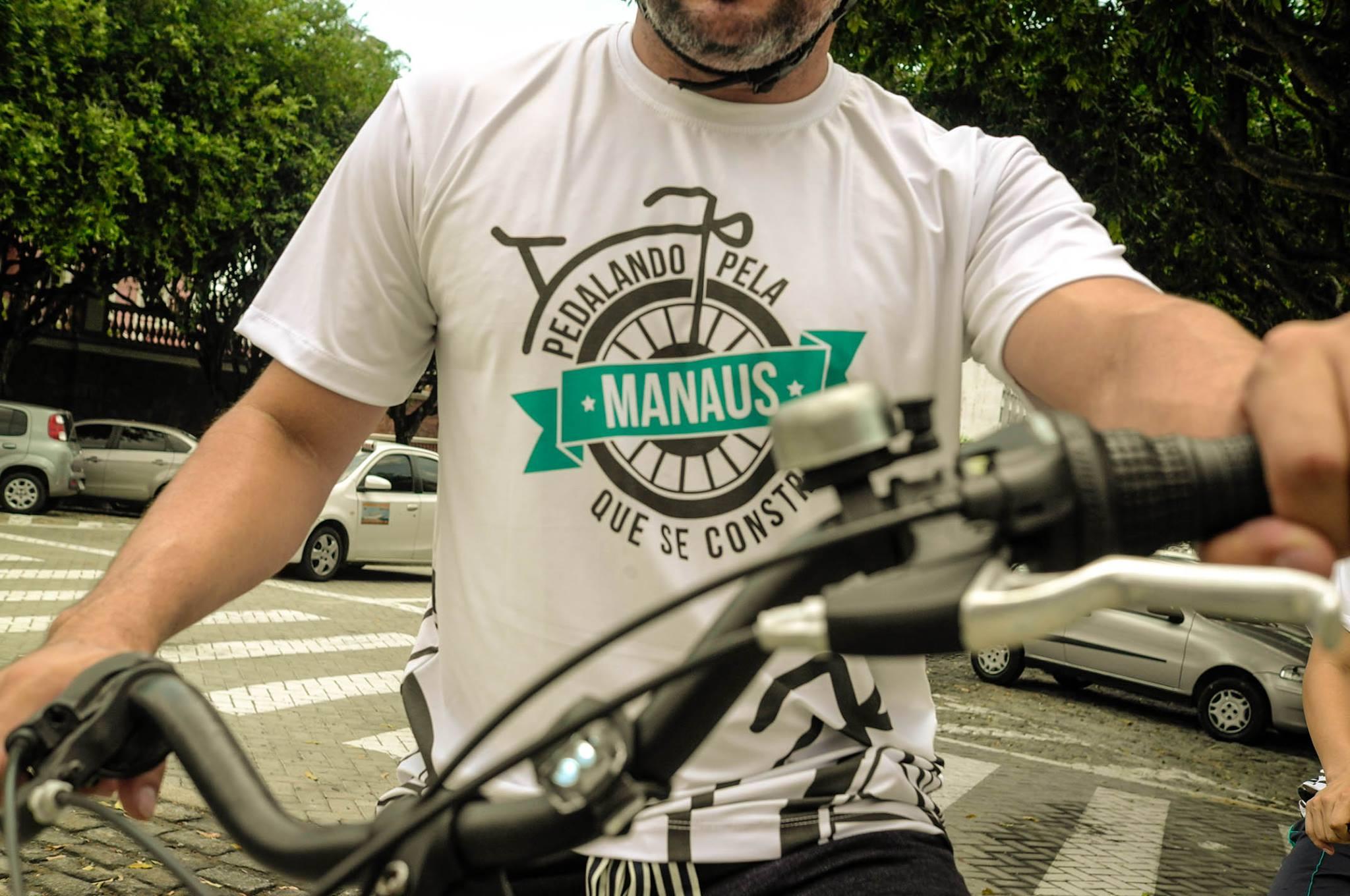 Aconteceu em Manaus o Pedalando pela Manaus que se constrói