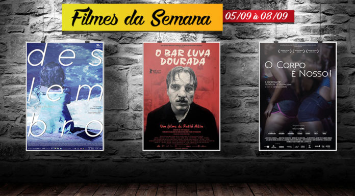 Cine Casarão - Filmes de 05 de setembro à 08 de setembro