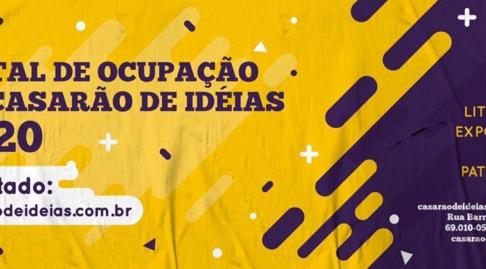 Relação dos projetos aprovados para Ocupações Artísticas no Centro Cultural Casarão de Idéias