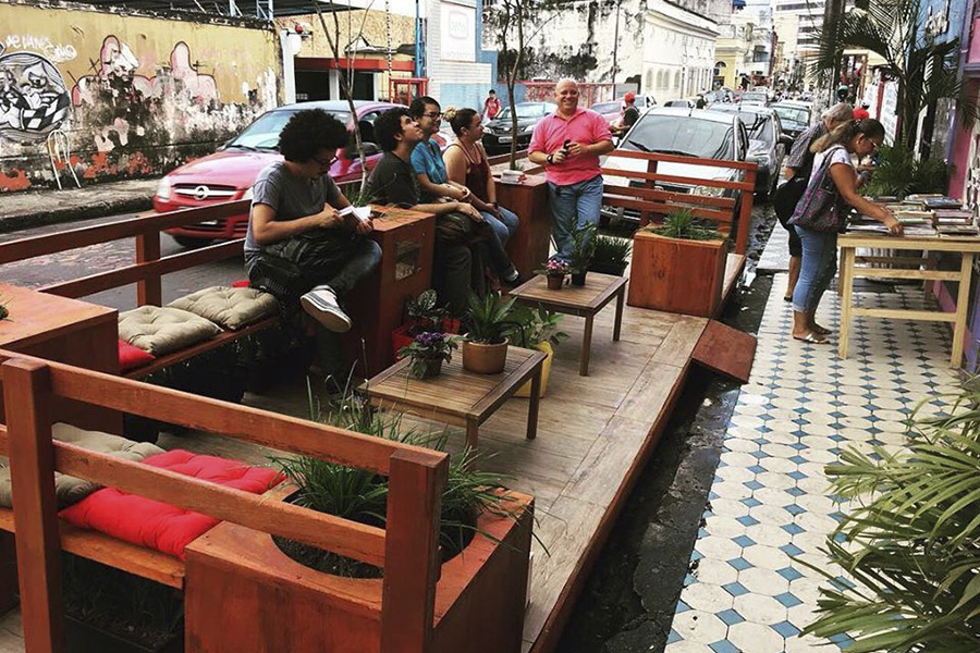 Parklet no Centro de Manaus