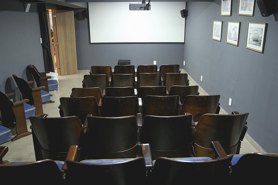 Sala de Cinema do Casarão de Idéias